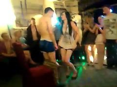 British Stripper At 18th Birthday Party