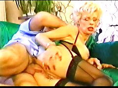Pierced Granny in Glasses Fisted and Fucked