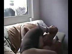 Cute girl sucks and rides her bf hard