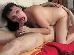 Mature Mother With Young Teen