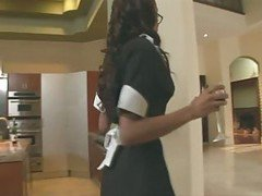Horny Maid Fucking In Her Uniform