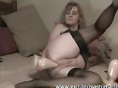 Extreme anal Solo 46 years Joyce
