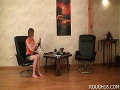 18 Years Old Girl Obeys Orders Of Her Master