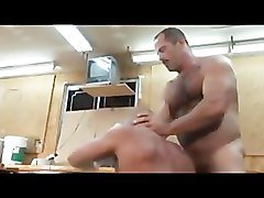 Butch Bear -- Muscle Bear Truck Stop part 1