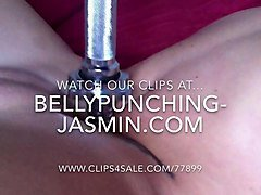 belly punching jasmin trailer - tit torture cunt busting