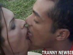 is this your first time with a brazilian transsexual