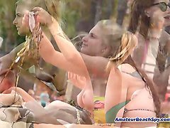 topless beach teens voyeur hd