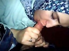 arabian milf in hijab gives head and swallows