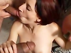 this old perverted lady gets to receive a nice erotic massage