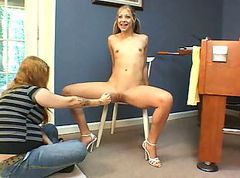 Lovely Leah Luv Gets Fisted Again