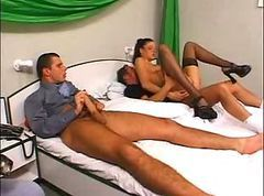 Excellent Threesome WithDP