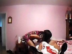 nasty step sister seduce lucky step brother in his bed