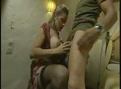 Classic HOT milf sucks and fucks