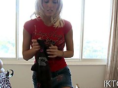 super hot euro babe fucked bad in a doggy position