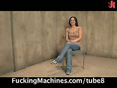 Amazing Hot Amateur On Fucking Machines