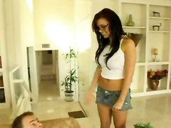 Eva Angelina Rides Her Way Through School