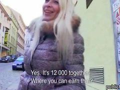 Blondie Czech Girl Pulled Out In Public And Fucked Good