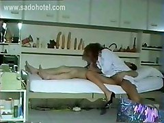 Horny Doctor Assistent Sucks Cock Of Patient And He Shoots His Cum In Her Face