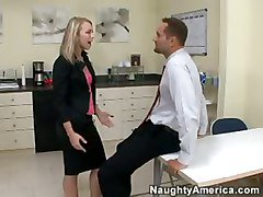Angry Boss Punish A Secretary